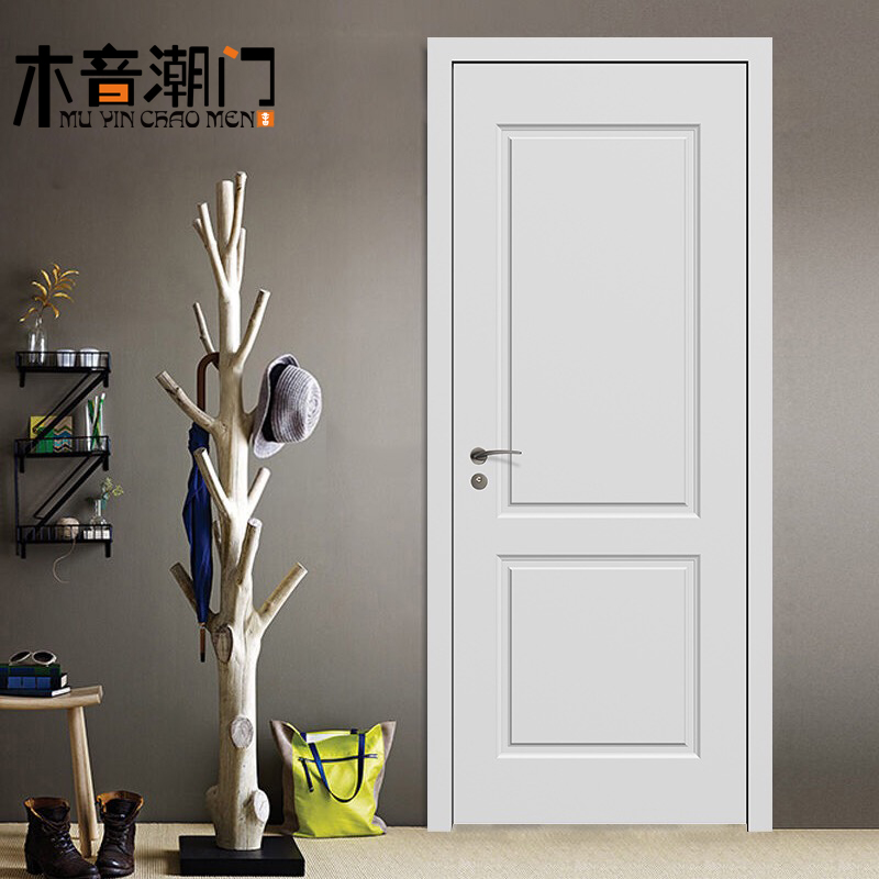 Solid Wood Door Set Door Wood Door Composite Door Paint Door Chengdu  Bedroom Door Interior Door
