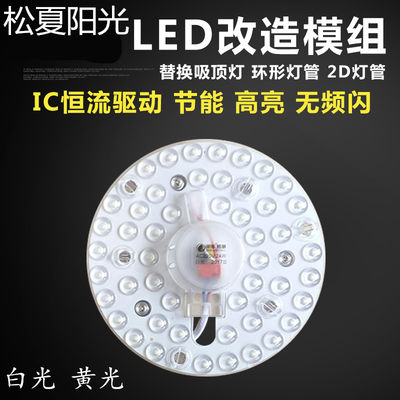 Song Xia Sunshine LED Module Separation Light Reconstruction Lightboard Circular Patch Light 2W18W24W36WLED Dress