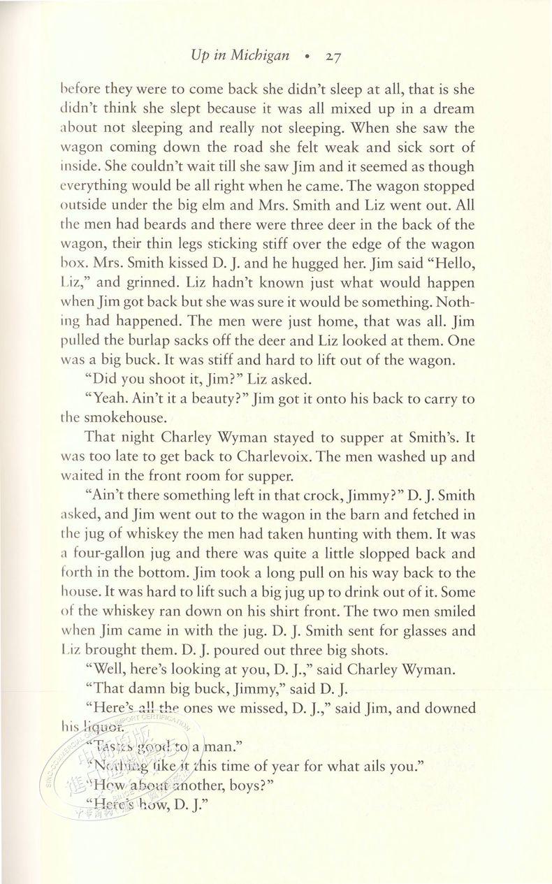 [文閲原版]海明威短篇小說集(海明威圖書館版)英文原版 Short Stories of Ernest Hemingway 白象似的群山 乞力馬扎羅的雪