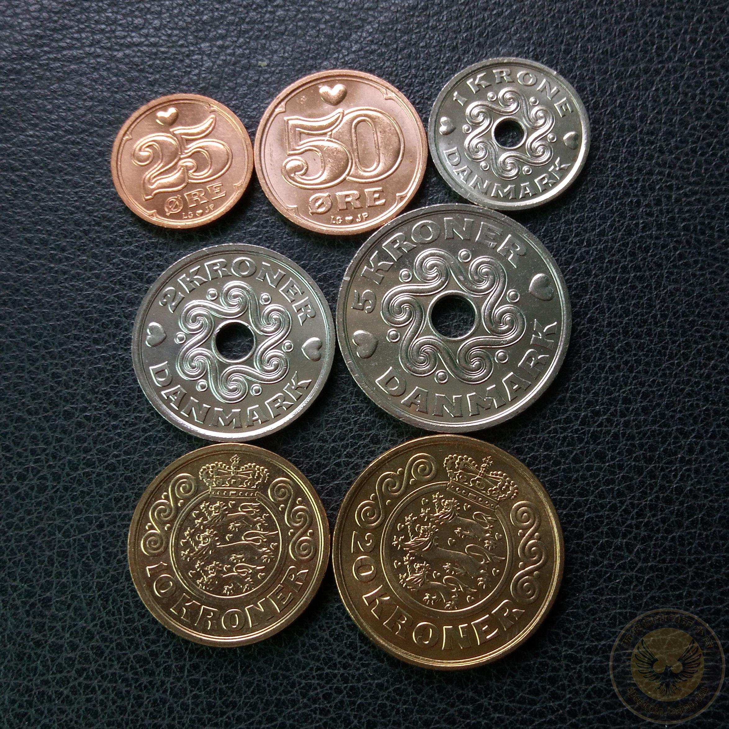 Foreign Coins Danish Rare Good Product Nearly New Daquan Sets Include High Value Coin