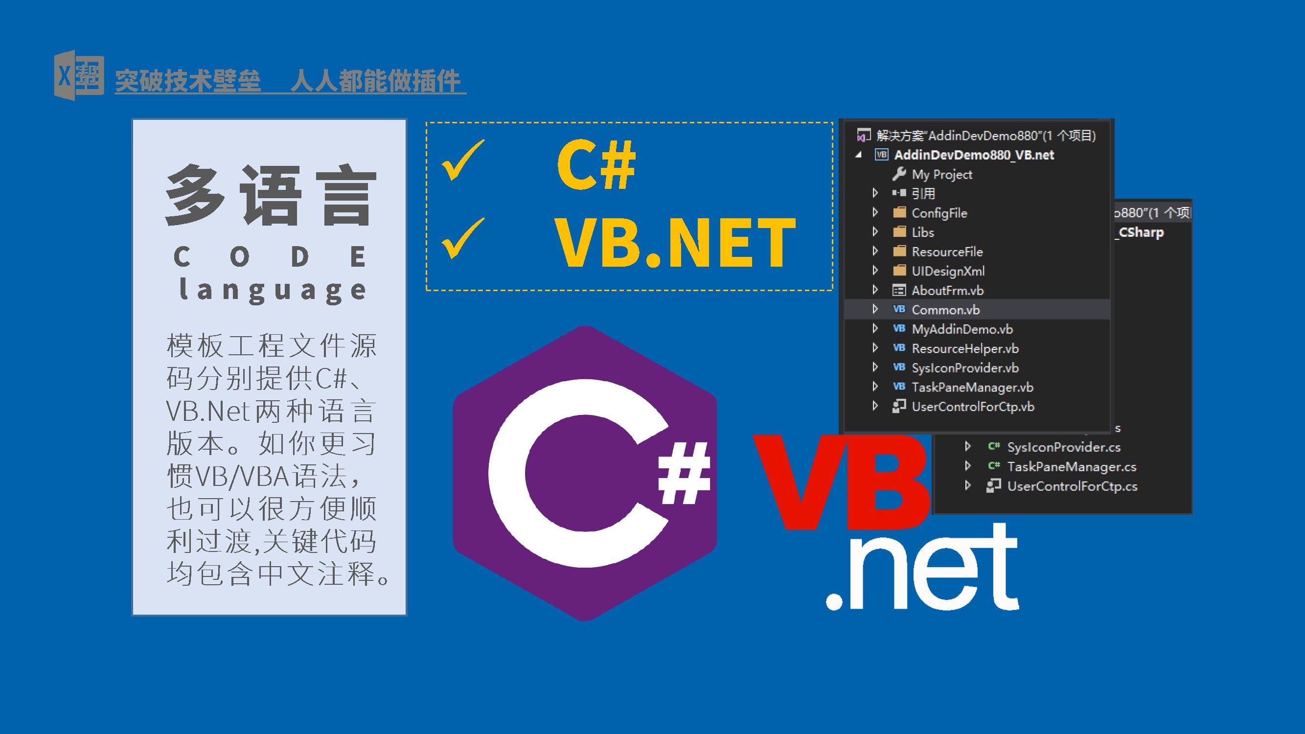 For vb 文 net