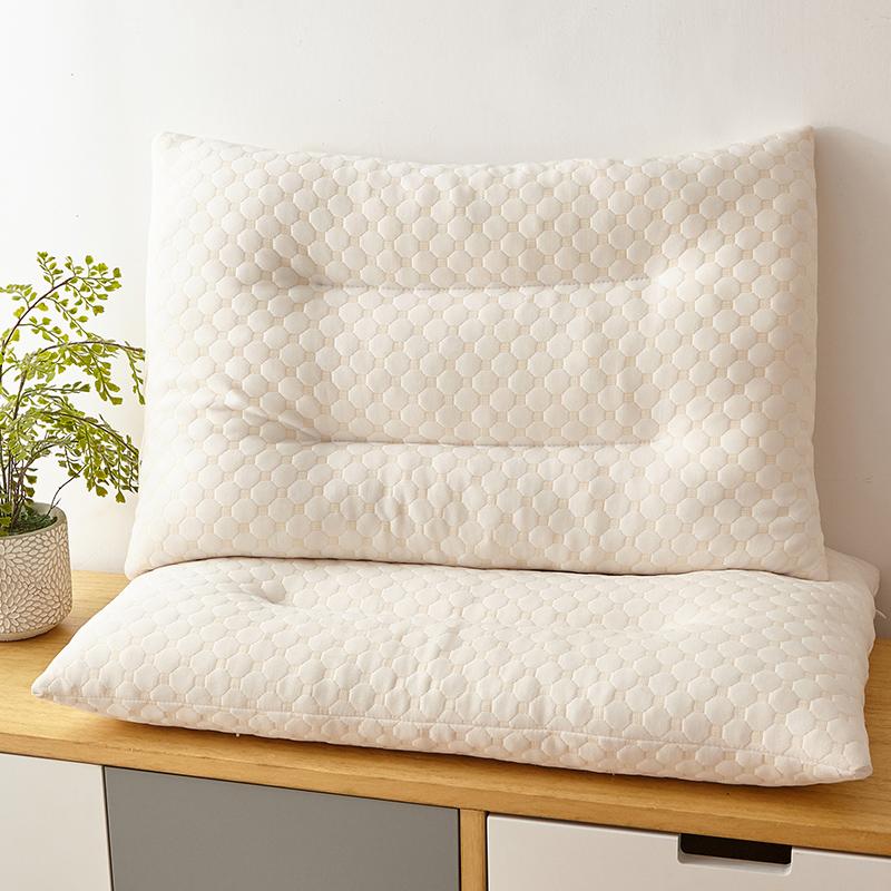 泰国天然乳胶枕碎乳胶成人失眠保健枕头儿童学生护颈枕助睡眠枕芯
