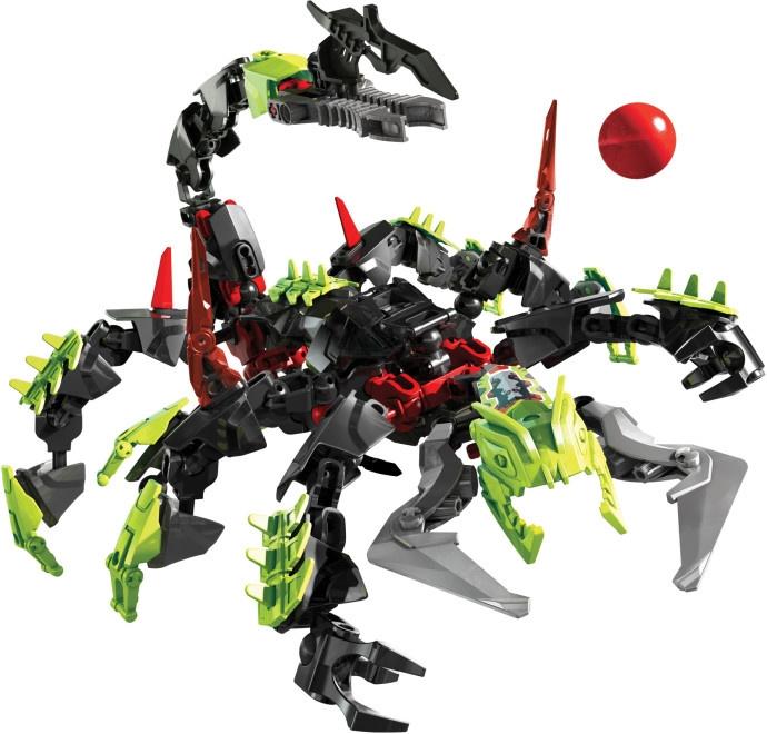 得高9766超级战士儿童英雄生化联盟星球大战巨蝎怪积木益智工厂