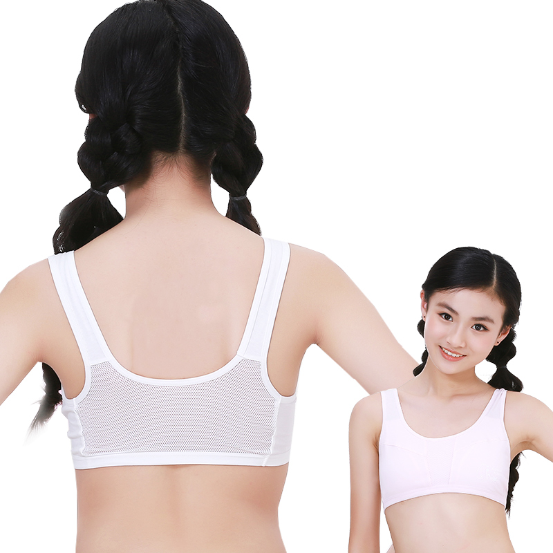 a3af0b83d5 Girls underwear vest development period primary school students 9-12 years  old 13 female big