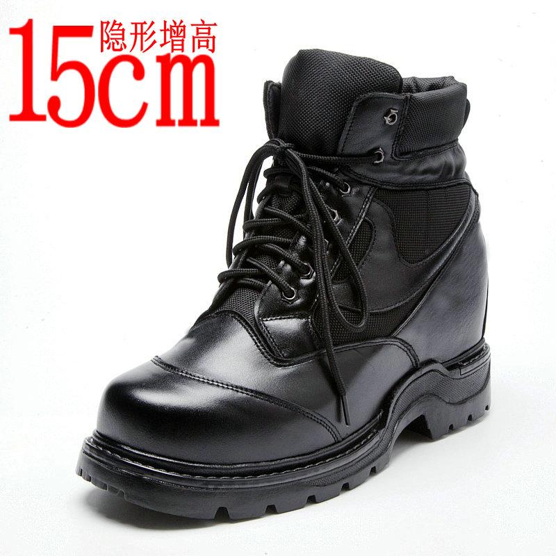 至高典男式特高巨高超级增高鞋男15cm内增高男鞋皮靴15公分15厘米
