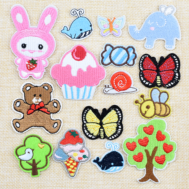 Cloth patch embroidery large cartoon clothes decorative cloth patch cloth paste children's clothes pants patch decal