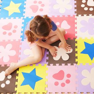 【20元封顶】明德彩色拼图爬行垫儿童早教益智爬爬垫安全环保泡沫地垫宝宝礼物