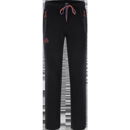 法国伯希和户外抓绒裤 男女秋冬加厚运动长裤保暖透气冲锋裤内胆