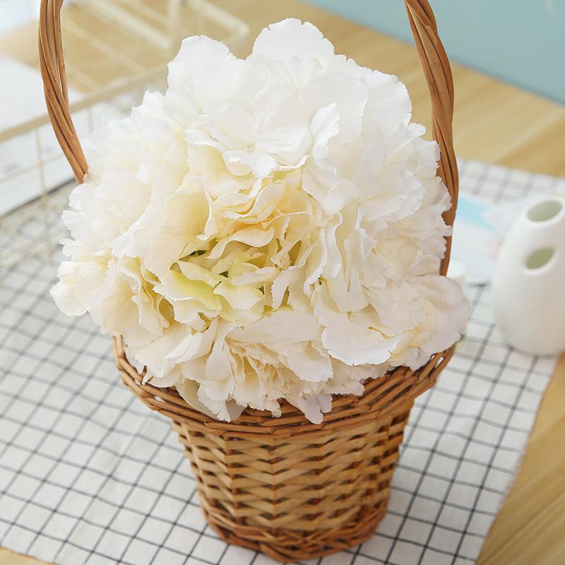 厂家直销7头绣球牡丹把束仿真花人造假花婚庆新娘手捧花插花供应