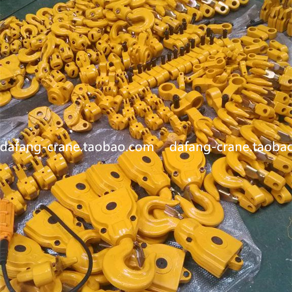Genuine 0 5 tons 1 ton 2 tons 3 tons 5 tons chain electric hoist hook