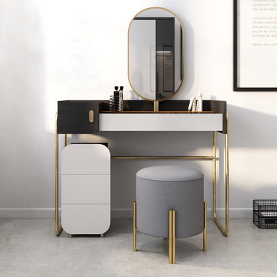 Nordic light luxury multi-function creative dressing table small apartment modern minimalist bedroom cosmetic table storage cabinet makeup table
