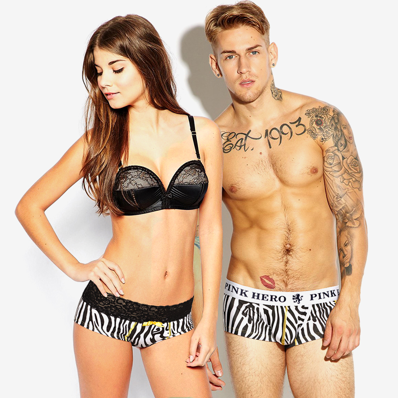 9d5e63909b318 2 loaded wild African fashion printing couple underwear cotton men ...