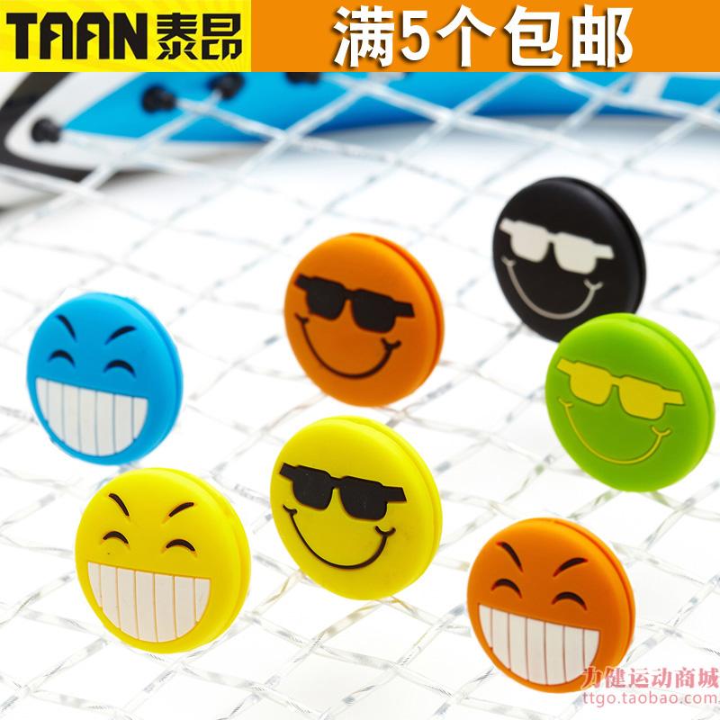 Тайский дорогой TAAN теннис бить амортизаторы амортизатор улыбка выражение мультики силиконовый стена ракетка медленно амортизатор шок узел