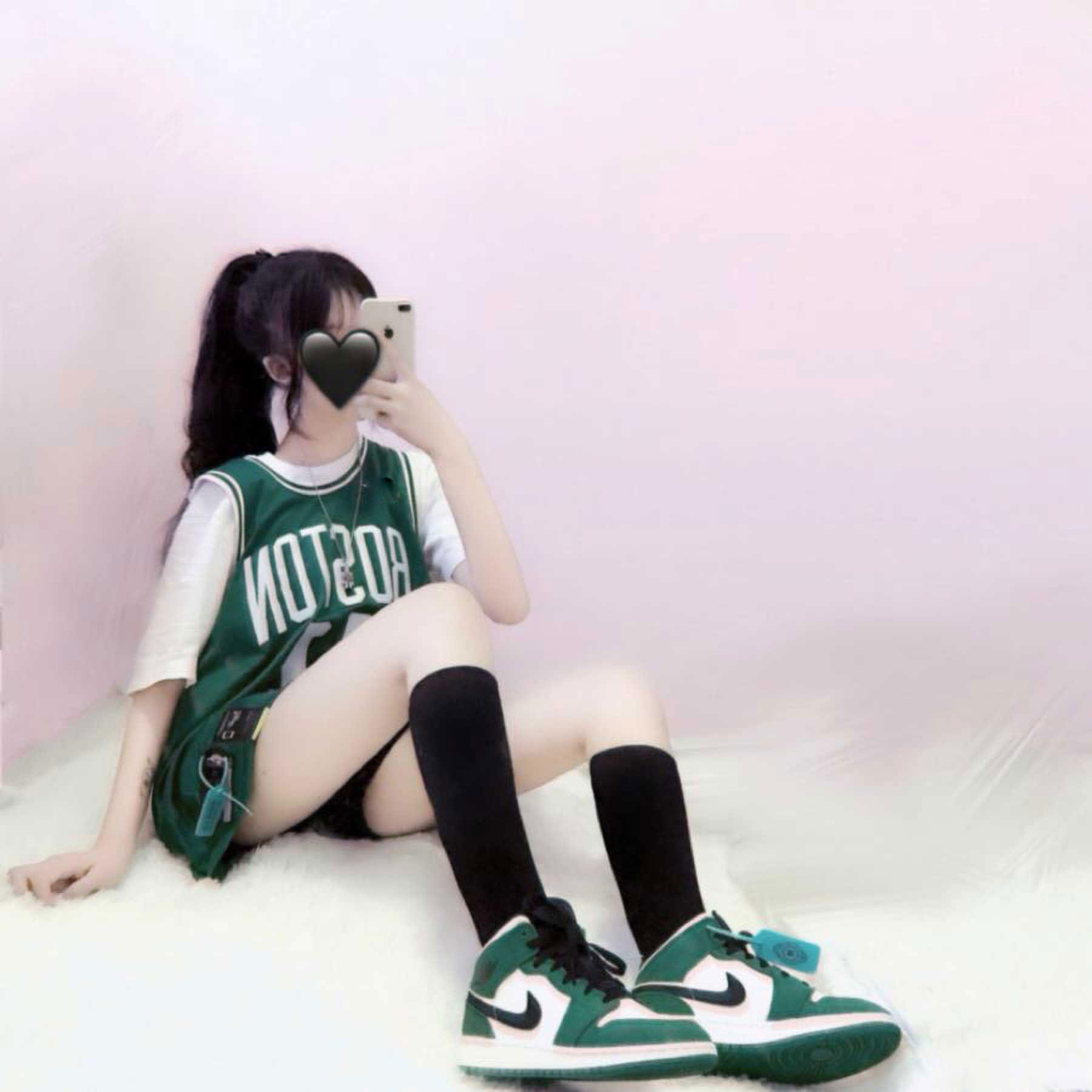 情侣女宽松外穿两球衣bf风ins潮篮球街头定制嘻哈服学生件套韩版