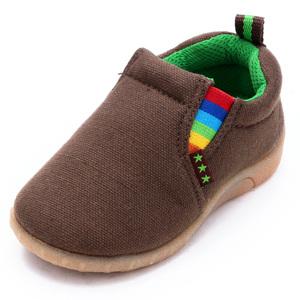 出口日本西松屋宝宝鞋子婴儿学步鞋男女儿童帆布鞋春秋季童鞋
