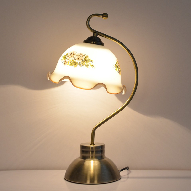 Usd 39 14 European Retro Table Lamp Bedroom Bedside Lamp Classical