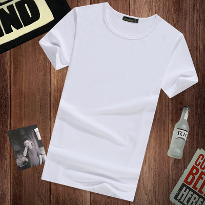 10 yuan or less men's short-sleeved t-shirt every day special 2017 summer new Korean fashion men compassionate