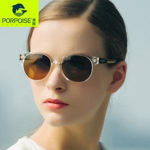 海豚太阳镜专柜同步 偏光太阳镜女小框高端潮流个性墨镜PP-6104
