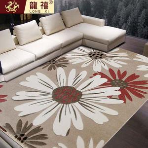 龙禧日韩现代简约时尚客厅卧室沙发毯茶几卧室家用弯头纱大地垫