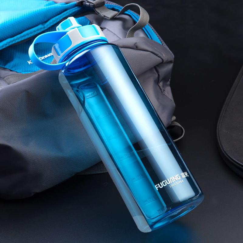 富光大容量塑料大水杯子便携太空杯超大号水瓶户外运动水壶2000ML