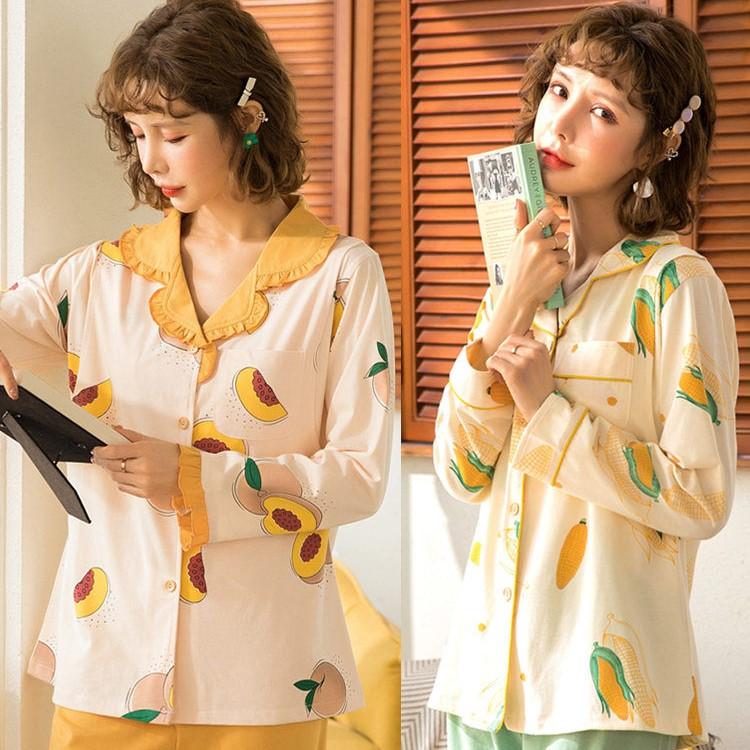 【买一送一】春秋纯棉产后月子服孕妇睡衣