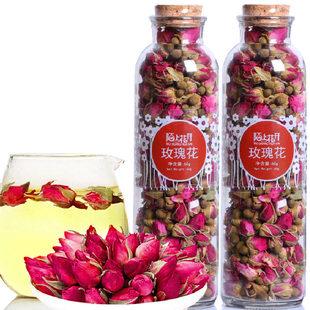 【陌上花开】玫瑰花茶罐装买1送1