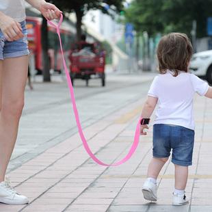 防走失带牵引绳宝宝防走丢安全手环