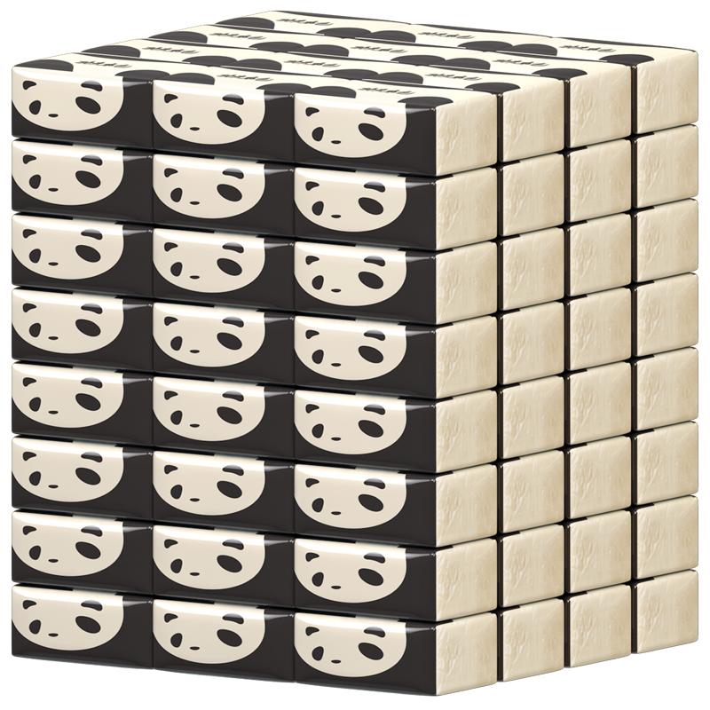 【植护】本色熊猫抽纸30包整箱