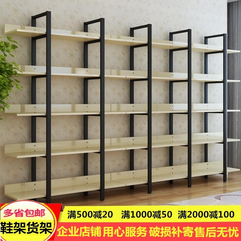 Special Boutique Shoe Rack Display Shoes Bookshelf Container Cabinet Warehouse Shelf