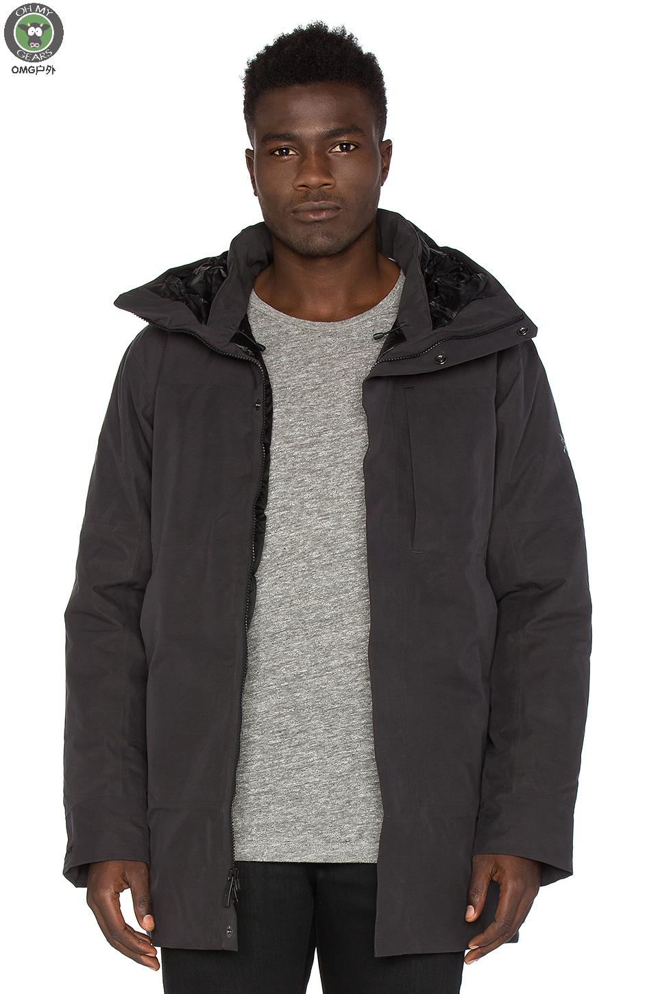 3c285b93217 Arcteryx Therme Parka Archaeopteryx men's business waterproof down ...
