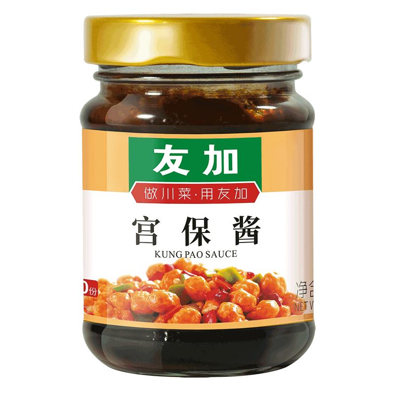 【川菜调味酱】友加宫保鸡丁酱240g*2