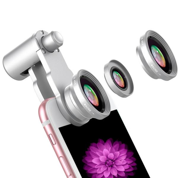 安卓手机镜头通用广角微距二合一特效补光镜头 拍下29.9元包邮