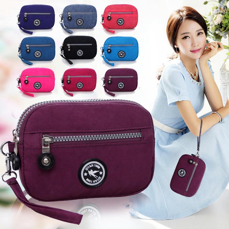 【天天特价】新款迷你钱包手机包帆布手拿包牛津布包超Q韩版女包