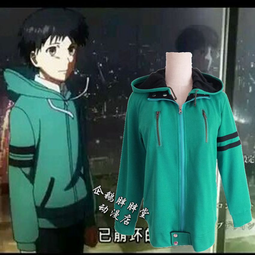 82478dc091f6 Tokyo Ghoul cos Tokyo can kind of gold and Wood Research Cos clothing gold  and Wood Research hoodie jacket sweater casual clothes