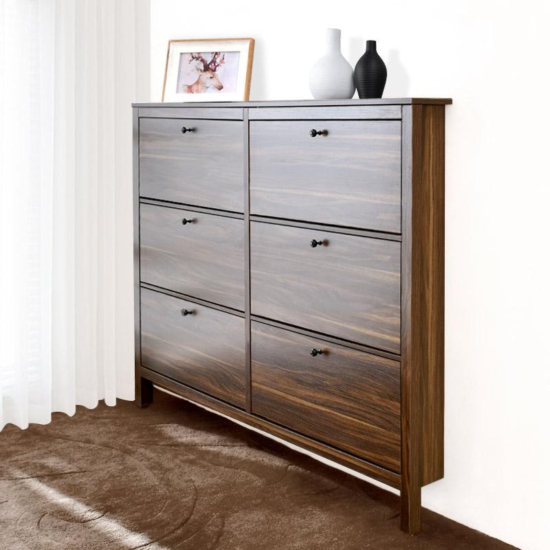 Nordic Ultra Thin Shoe Cabinet 17cm Home Door Small Large Capacity Flip  Narrow Shoe Cabinet Modern Minimalist Saving Space