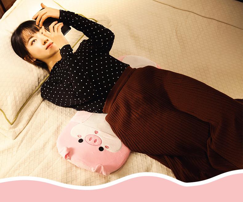 乳胶靠腰垫护腰垫腰枕床上腰椎间盘突出睡觉腰垫睡眠孕妇托腹靠垫商品详情图