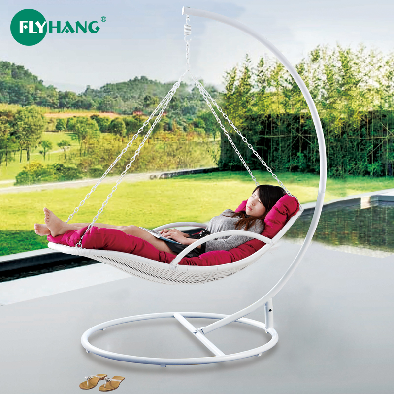 Flying rattan line hanging basket rattan chair swing chair outdoor hammock balcony adult indoor single lounge chair rocking chair outdoor rocking