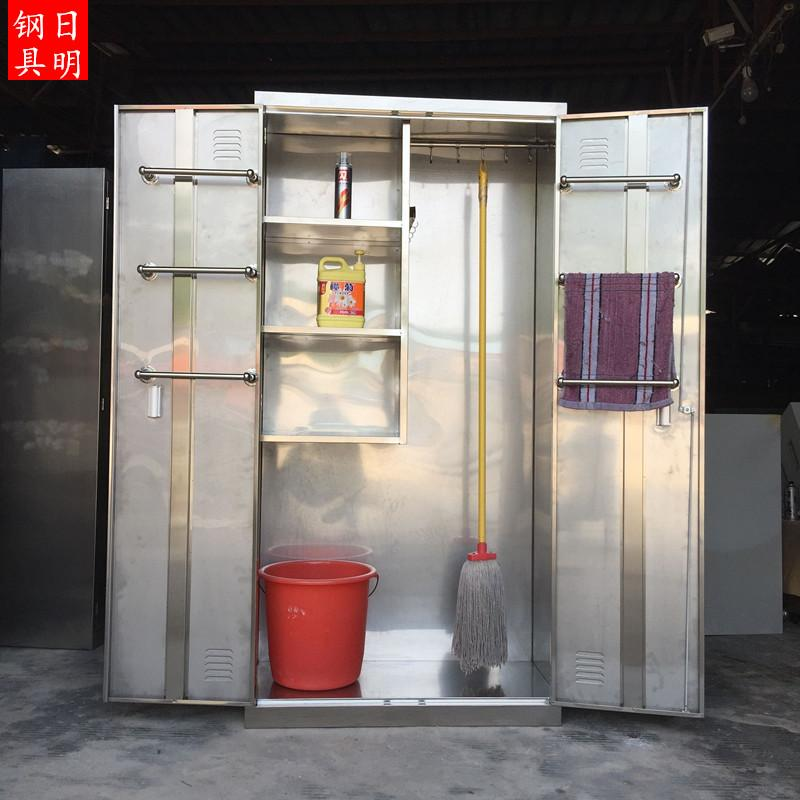 304 Stainless Steel Cabinet Outdoor Tool Cabinet Balcony ...