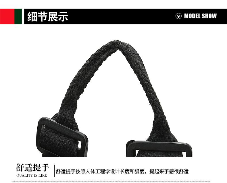 韩版印花牛津布双肩包女新款帆布女士揹包多用包大容量旅行包详细照片