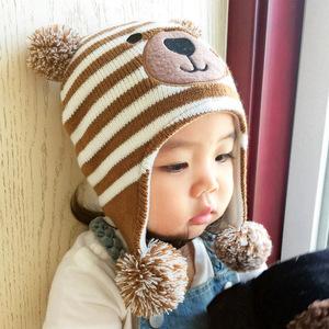 婴儿童秋冬季帽子0-1岁2男宝3小孩4宝宝5男孩潮幼童6婴童可爱超萌