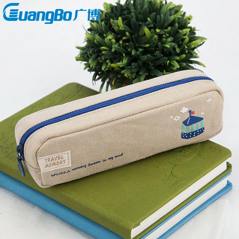 简约女生文具袋铅笔袋,送朋友学生文具礼物