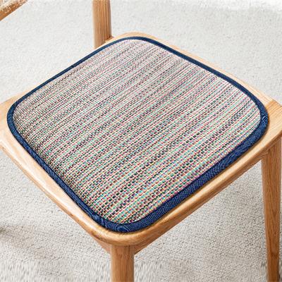 清仓处理夏季凉席椅垫透气坐垫双面马蹄形餐桌椅子学生办公室久坐