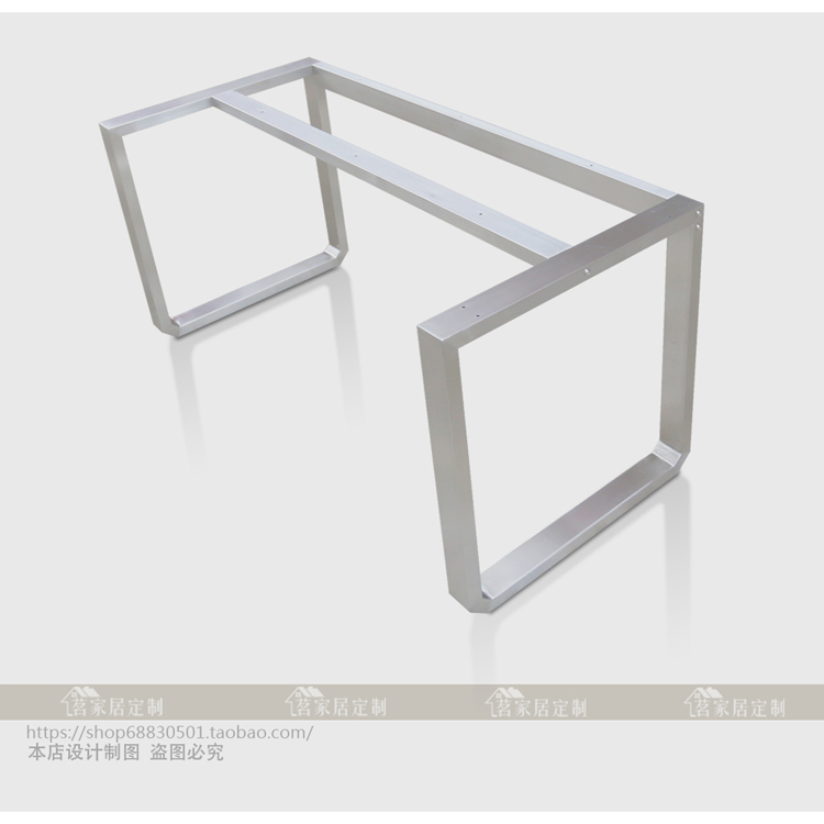 USD 159 29] Authentic 304 brushed stainless steel table
