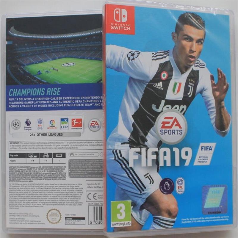 现货 正版 任天堂Switch游戏 NS FIFA19 2019 欧冠 世界足球19