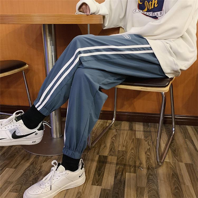 K2010/P40春装新款多色男士休闲裤男运动裤男潮流宽松大码男裤子