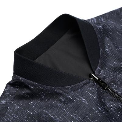Bảy con sói hai mặt áo khoác nam đồng phục bóng chày áo khoác 2018 mùa xuân mới kinh doanh bình thường nam áo khoác 2895