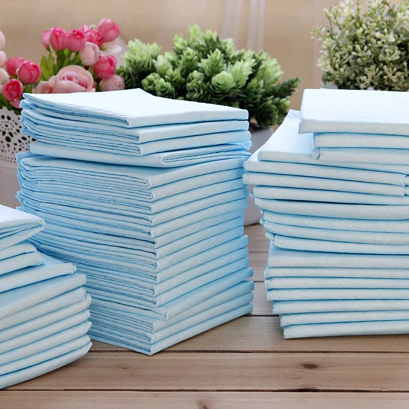 Дезодорирующие салфетки для щенков ПЭТ подгузники для собак и кошек пеленки Тедди ВИП мочи Pad раструб 100 установлены большие 50 лист Бесплатная доставка