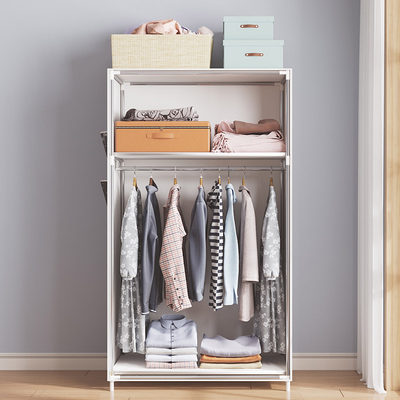 Simple Wardrobe Clothing Children's Dormitory Subsites Subcords Bedroom Home Closet Modern Simple