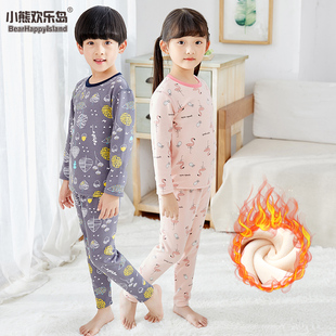 [multi color options] children's Plush pajamas