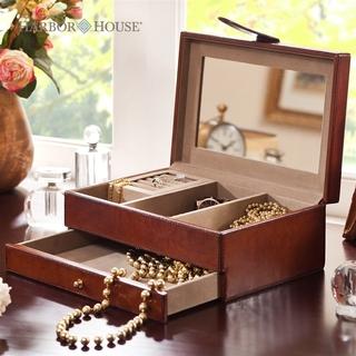 Шкатулки для ювелирных изделий,  Harbor House прямоугольник действительно коры ювелирные изделия коробочный продукт простой американский многофункциональный хранение хранение ткань, цена 12604 руб